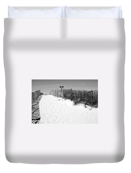 Provincetown Dunes On Cape Cod Duvet Cover