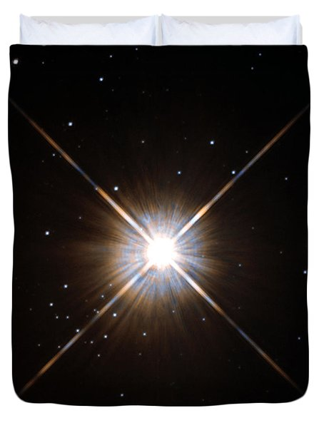 Proxima Centauri Duvet Cover by Science Source