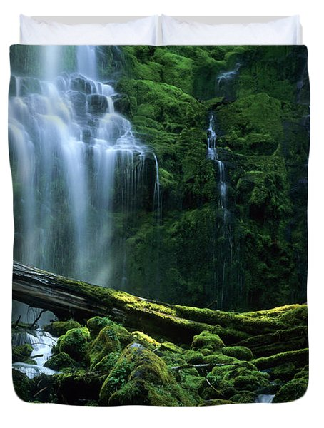 Proxy Falls Duvet Cover