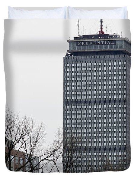 Prudential Tower Duvet Cover