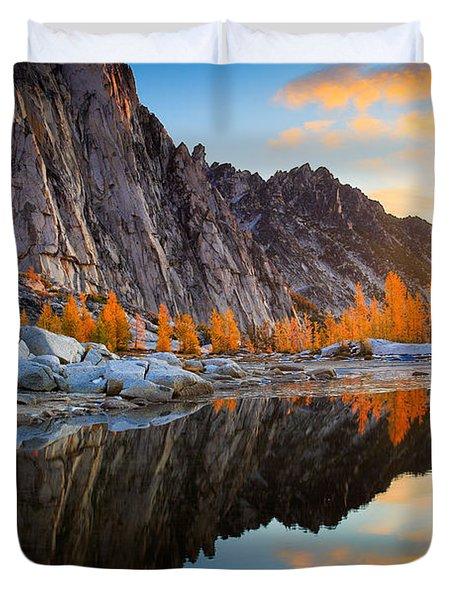 Prusik Reflection Duvet Cover by Inge Johnsson