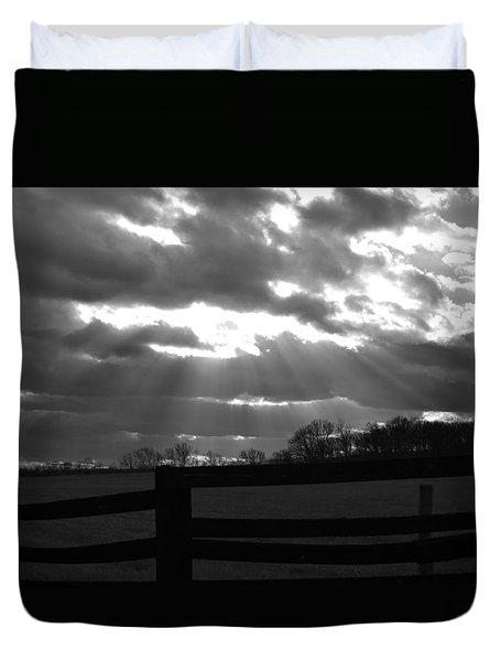 Psalm 19 1 Duvet Cover
