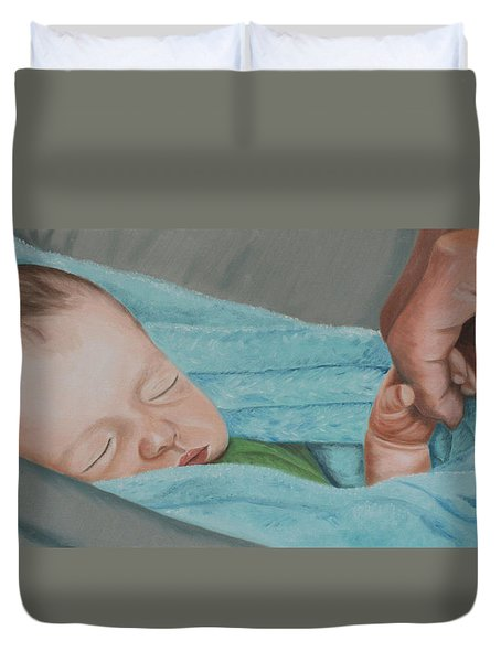 Psalm Four Eight Duvet Cover