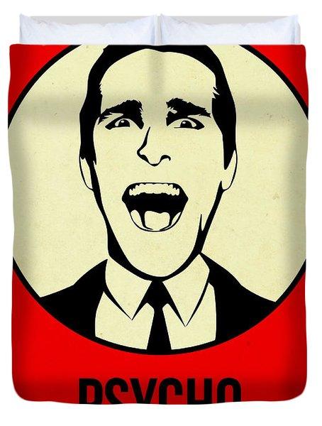 Psycho Poster 1 Duvet Cover
