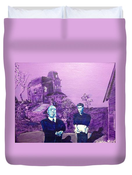 Psycho Set Duvet Cover