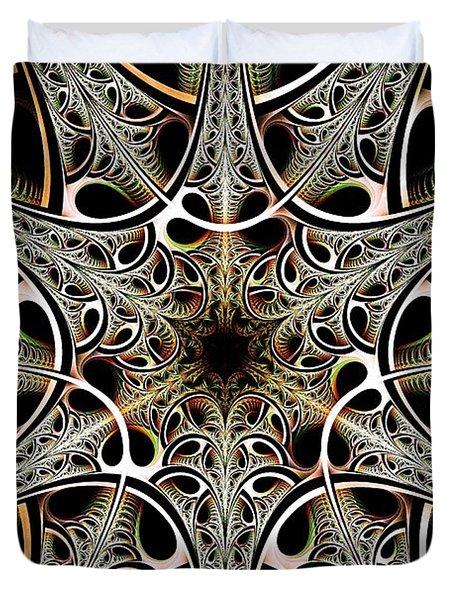 Psychotronic Revolution Duvet Cover by Anastasiya Malakhova