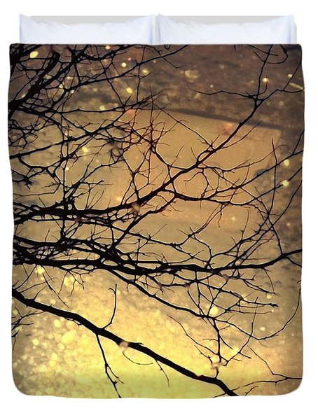 Puddle Art 3 Duvet Cover