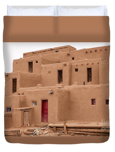 Pueblo Living Duvet Cover