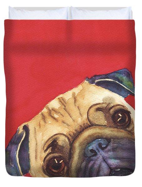 Pug 2 Duvet Cover