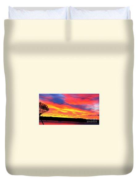 Puget Sound Colors Duvet Cover