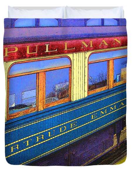 Pullman Duvet Cover