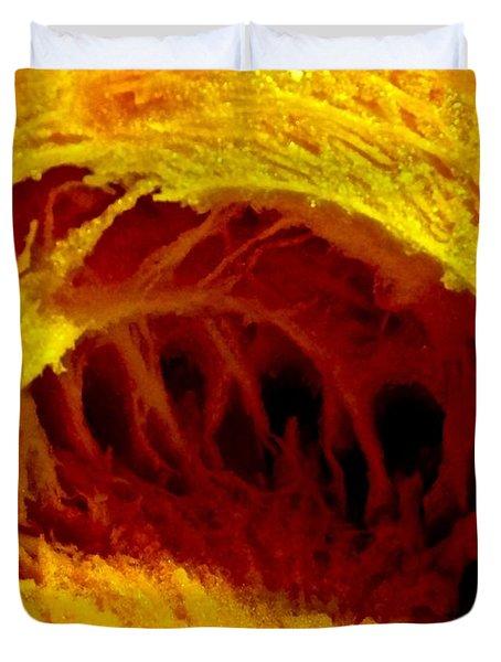 Pumpkin Cave Duvet Cover