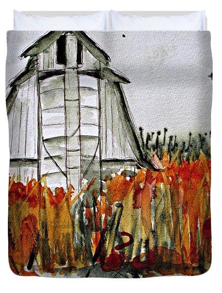 Pumpkin Dreams Duvet Cover