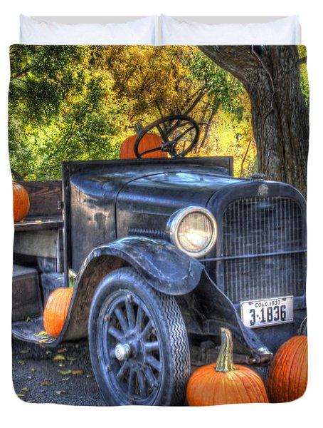 Pumpkin Hoopie Duvet Cover