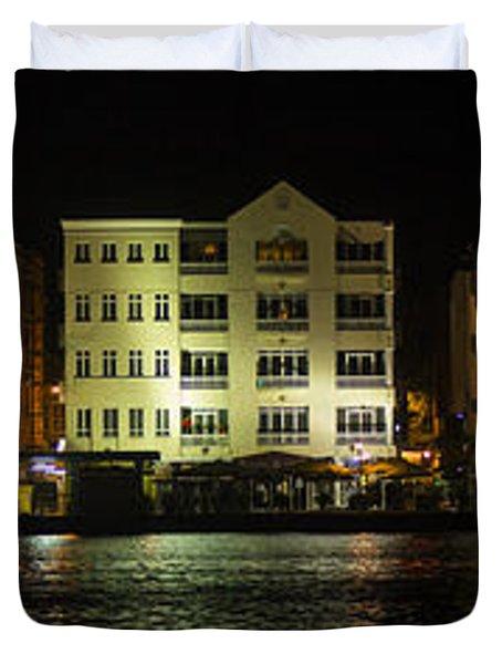 Punda At Night Panoramic Duvet Cover