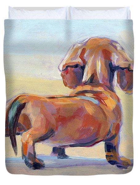 Puppy Butt Duvet Cover