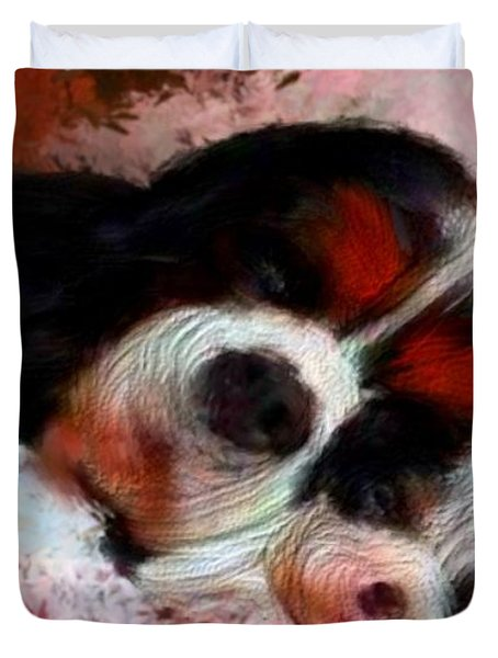 Puppy Love Duvet Cover by Bruce Nutting