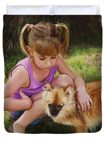 Puppy Love Duvet Cover