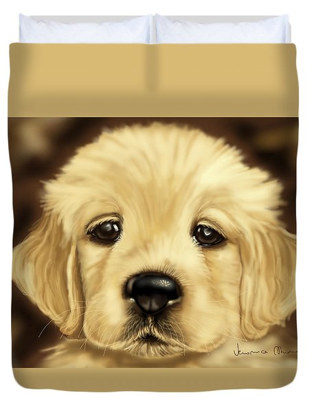 Puppy Duvet Cover