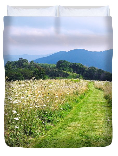 Purchase Knob Duvet Cover by Melinda Fawver