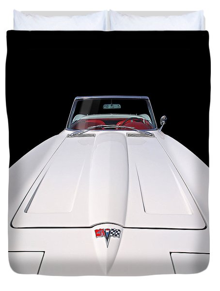 Pure Enjoyment - 1964 Corvette Stingray Duvet Cover