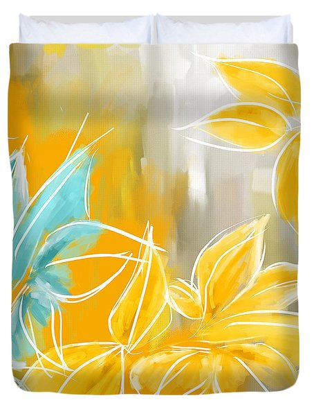 Pure Radiance Duvet Cover by Lourry Legarde