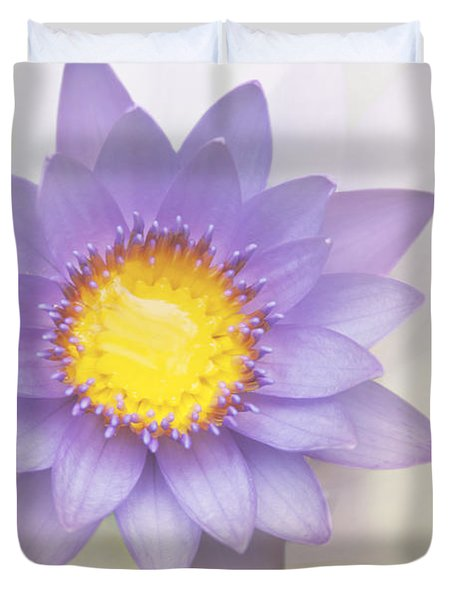 Purity And Grace Duvet Cover by Sharon Mau