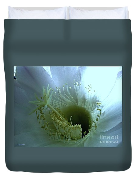 Purity Duvet Cover by Leanne Seymour