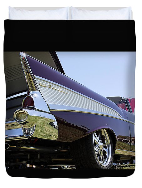 Duvet Cover featuring the photograph Purple And Sexy by Shoal Hollingsworth