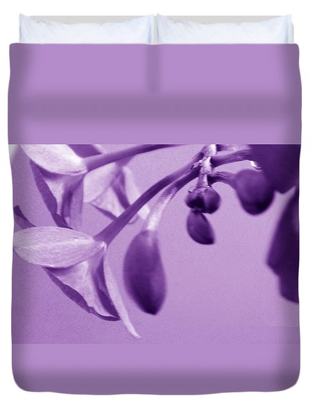 Purple Charm Duvet Cover