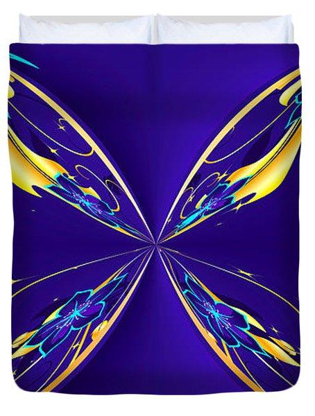 Purple Diamonds Duvet Cover by Liane Wright