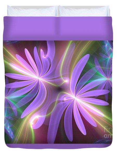 Purple Dream Duvet Cover