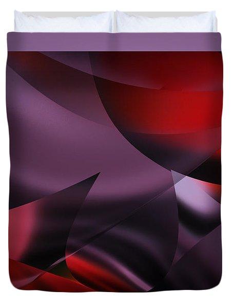 Purple Energy  Duvet Cover