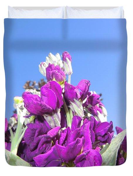 Purple Glow 2 Duvet Cover