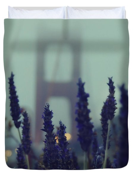 Purple Haze Daze Duvet Cover
