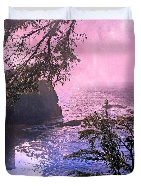 Purple Haze Duvet Cover by Marty Koch