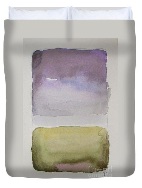 Purple Morning Duvet Cover