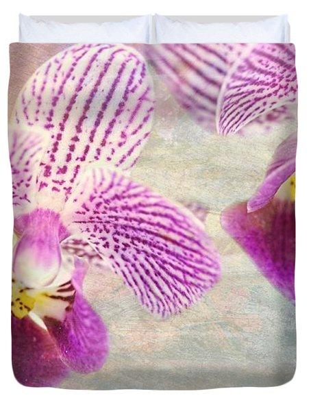 Purple Orchid 2 Duvet Cover