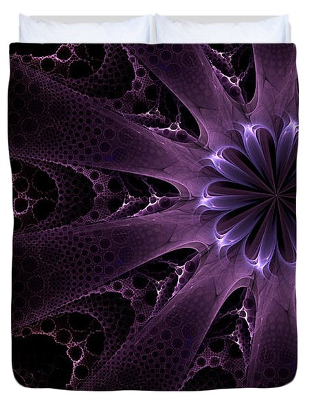 Purple Passion Duvet Cover by GJ Blackman
