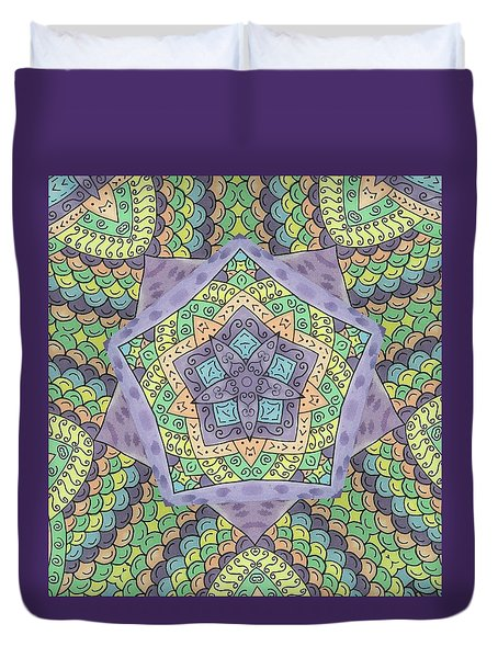 Purple Passion Duvet Cover by Susie WEBER