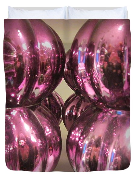 Purple Reflection Duvet Cover