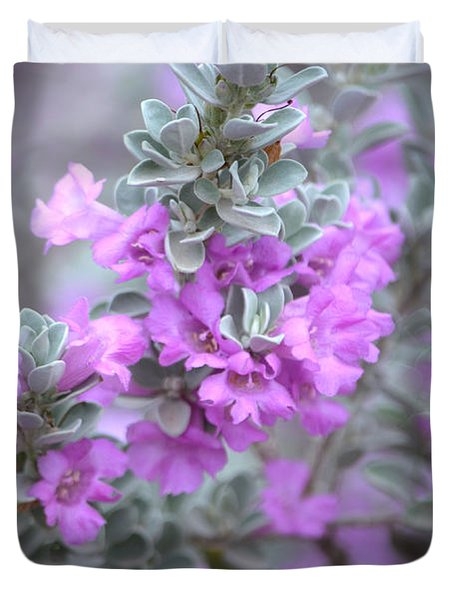 Purple Sage Duvet Cover