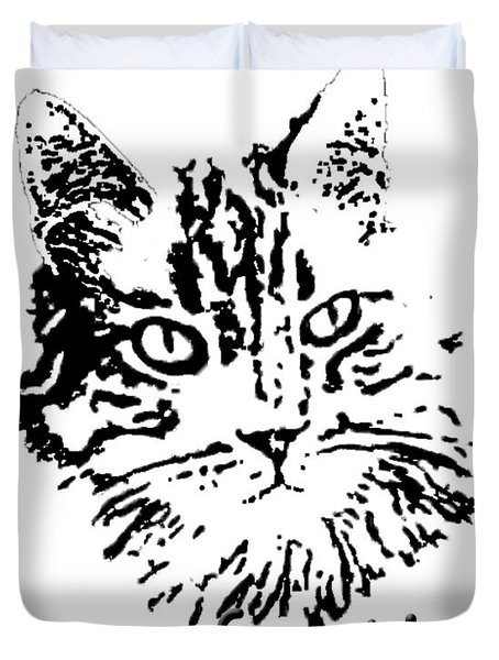 Purr-fection Duvet Cover by Robyn Stacey