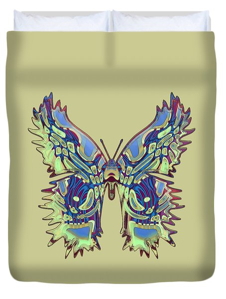 Puttyfly Butterfly Duvet Cover