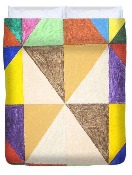 Pyramids 2 Duvet Cover