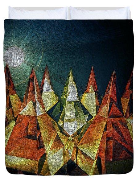 Pyramids Duvet Cover