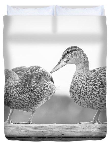 Quack Quack Duvet Cover
