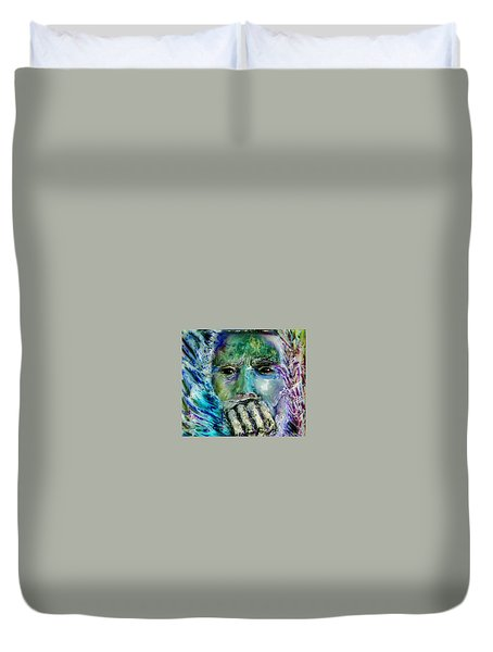 Quadro Inverso Duvet Cover by Bob Money