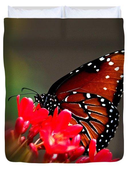 Queen Butterfly II Duvet Cover
