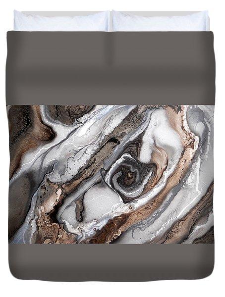 Queen Conch Duvet Cover by Angel Ortiz